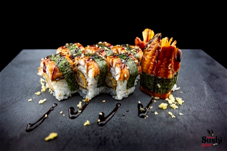 Foto Black dragon roll 8st