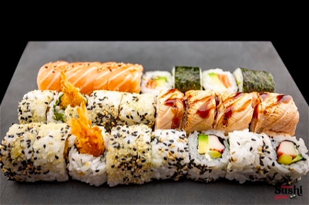 Foto Delicious Sushi (chef choice) (24 stuks)
